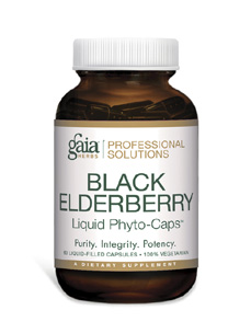 Black Elderberry Pro 60 lvcaps