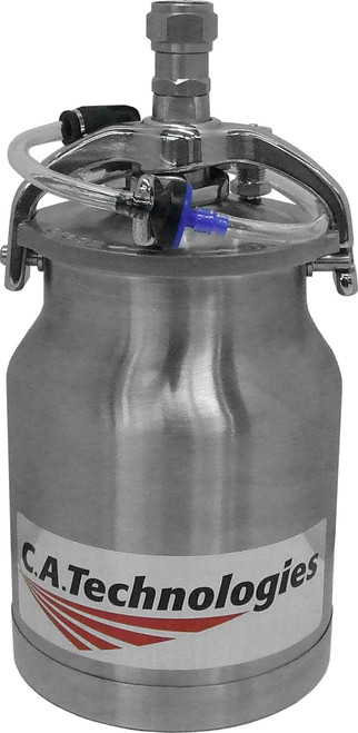 1 Quart Pressure Cup w/ Check Valve Stainless Steel