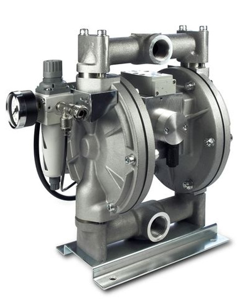 Wagner PM500 Low Pressure Diaphragm Pump | Aluminum Housing, Nickel-Coated (U509.A0A)