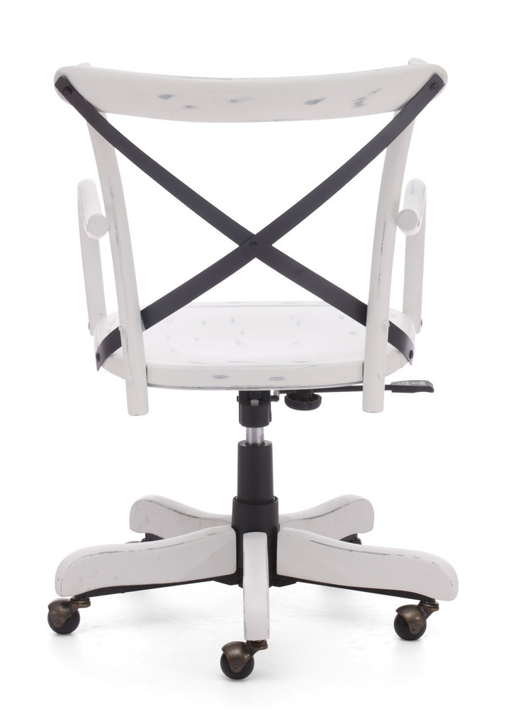 Union Square Office Chair Antique White
