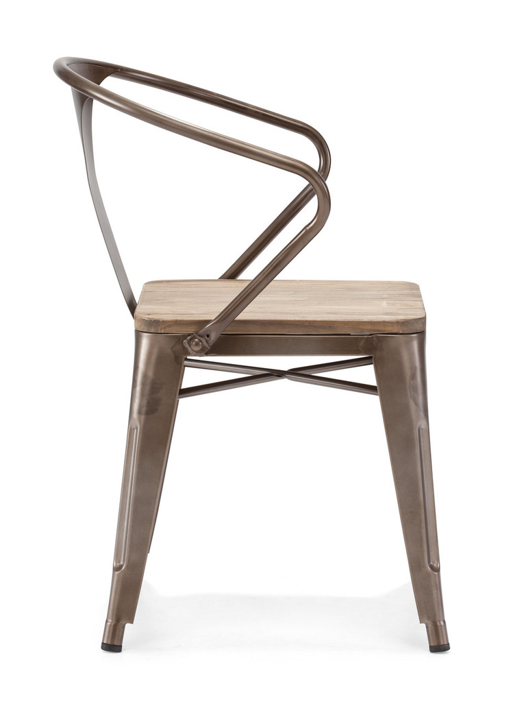 108148 Helix Chair Rustic Wood 816226023620 Seating Modern Rustic Wood Chair by  Zuo Modern Kassa Mall Houston, Texas Best Design Furniture Store Serving Houston, The Woodlands, Katy, Sugar Land, Humble, Spring Branch and Conroe