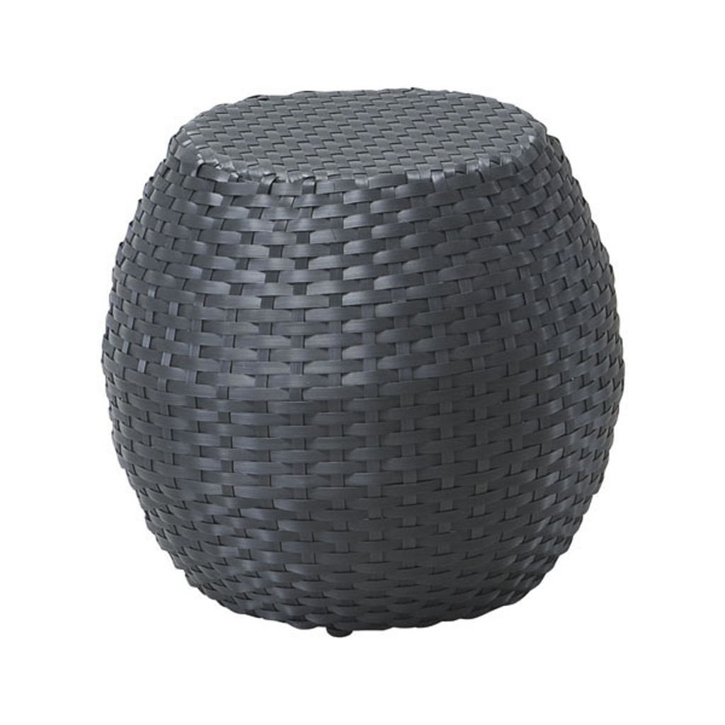 703201 Ocean Beach Stool Brown 816226024436 Wicker Modern Brown Stool by  Zuo Modern Kassa Mall Houston, Texas Best Design Furniture Store Serving Houston, The Woodlands, Katy, Sugar Land, Humble, Spring Branch and Conroe