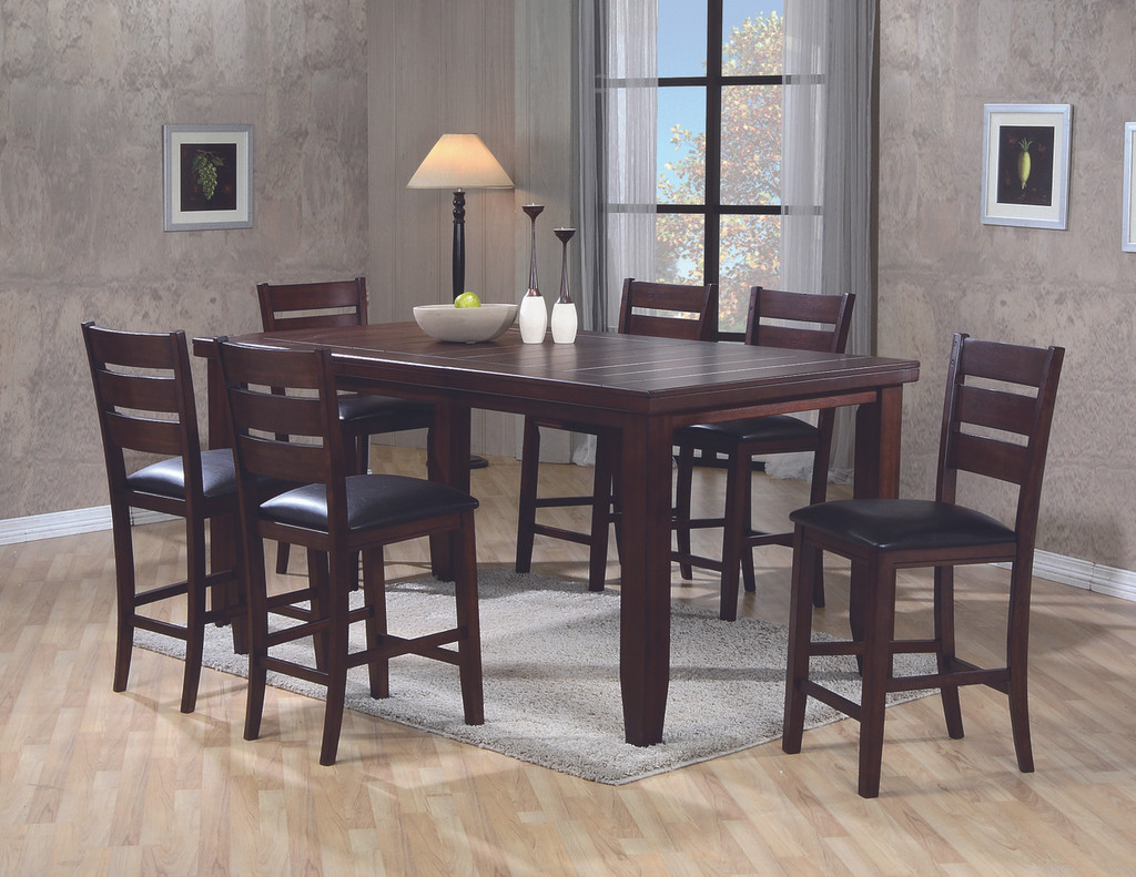 BARDSTOWN COUNTER HEIGHT DINING TABLE TOP 5 Piece Set