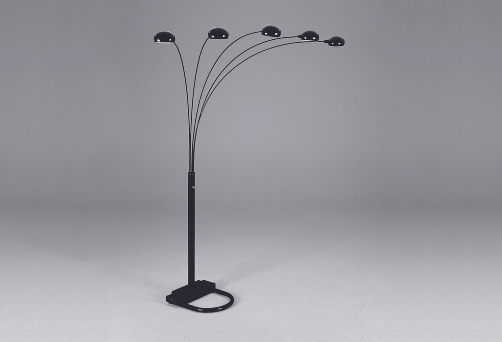 Arc Floor Lamp (Black) - 4888B-BK