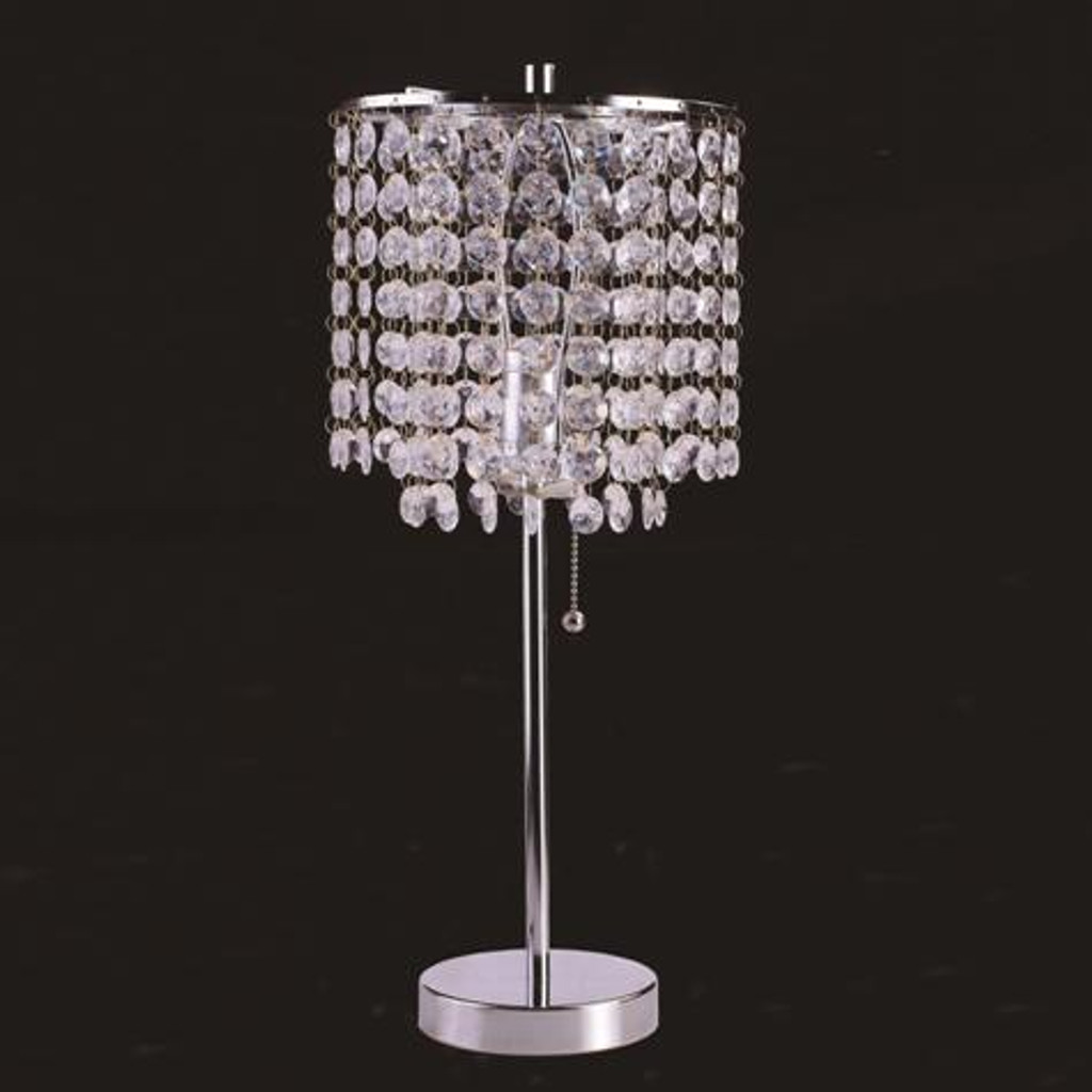 Aurora Chrome Table Lamp (SET OF 2) - 6213T-CH