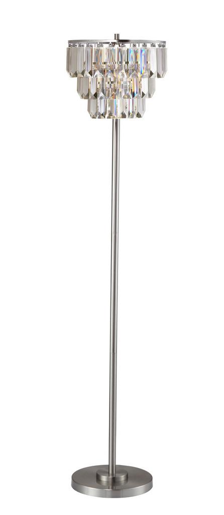 LOOR LAMP-CRYSTAL-6212F-CL