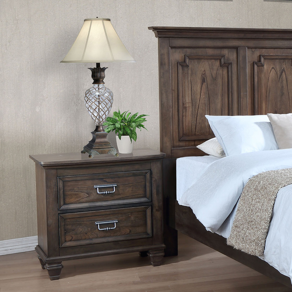 CAMPBELL NIGHT STAND-B8250/2