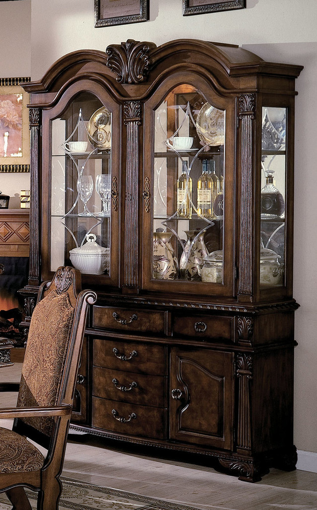 "NEO RENAISSANCE CHINA HUTCH 53""H-2400/H"
