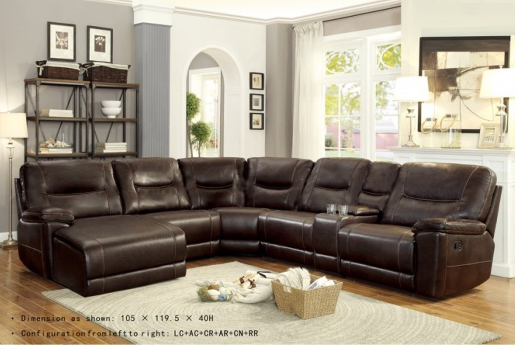 COLUMBUS COLLECTION RECLINER SECTIONAL