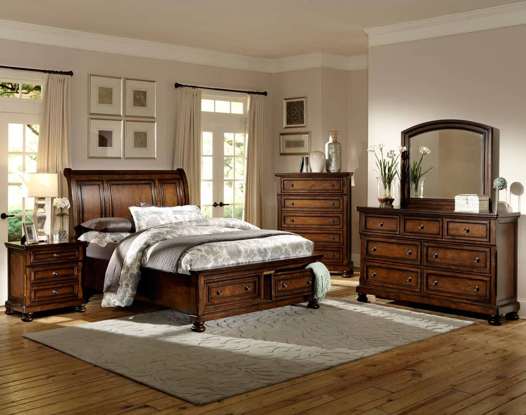 CUMBERLAND COLLECTION 6 PCS BEDROOM SET-2159