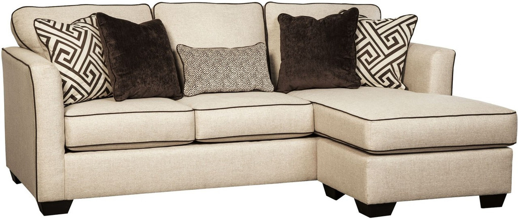 CARLINWORTH LINEN COLLECTION QUEEN SOFA CHAISE SLEEPER-84401-68