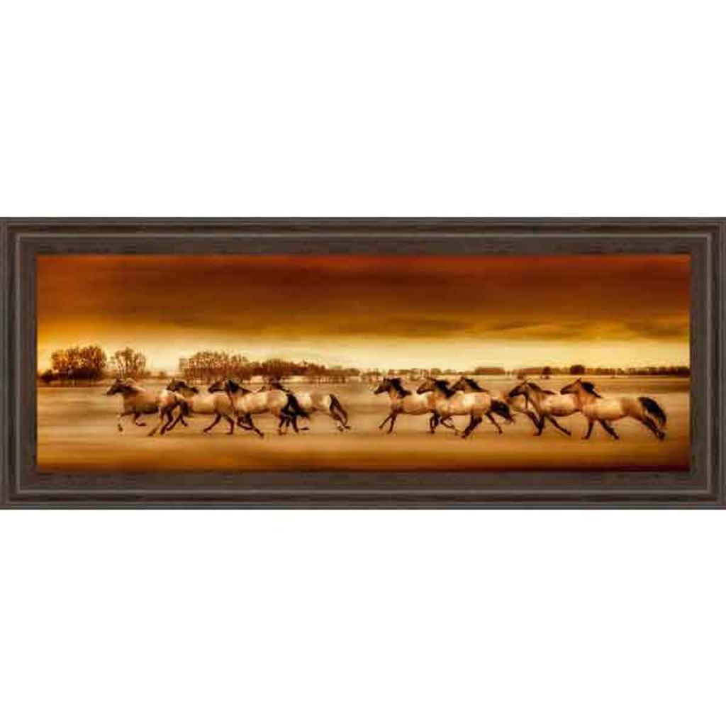 ARGENTINE HORSES 18x42