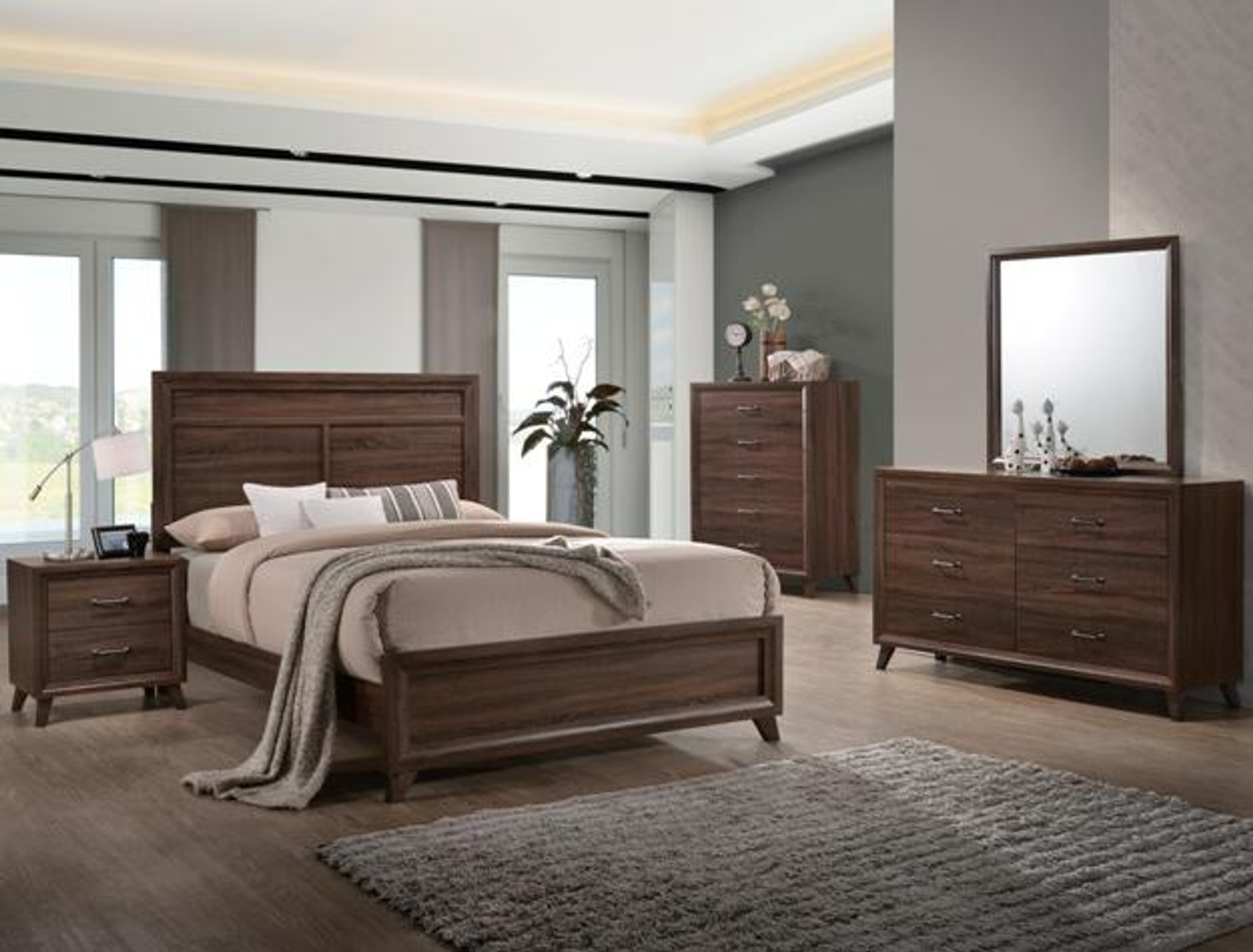 Simple Complete Bedroom Sets Decoration Ideas