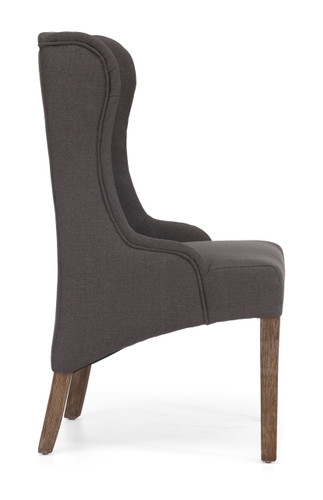 98083 Marina Armchair Charcoal Gray 816226021831 Seating Modern Charcoal Gray Armchair by  Zuo Modern Kassa Mall Houston, Texas Best Design Furniture Store Serving Houston, The Woodlands, Katy, Sugar Land, Humble, Spring Branch and Conroe