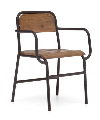 98151 West Portal Chair Distressed Natural 816226022401 Seating Modern Distressed Natural Chair by  Zuo Modern Kassa Mall Houston, Texas Best Design Furniture Store Serving Houston, The Woodlands, Katy, Sugar Land, Humble, Spring Branch and Conroe