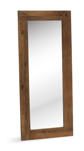 98170 Visitacion Mirror Distressed Natural 816226022470 Bedroom Modern Distressed Natural Mirror by  Zuo Modern Kassa Mall Houston, Texas Best Design Furniture Store Serving Houston, The Woodlands, Katy, Sugar Land, Humble, Spring Branch and Conroe