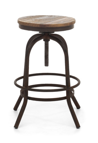 98184 Twin Peaks Counter Stool Distressed Natural 816226022524 Seating Modern Distressed Natural Counter Stool by  Zuo Modern Kassa Mall Houston, Texas Best Design Furniture Store Serving Houston, The Woodlands, Katy, Sugar Land, Humble, Spring Branch and Conroe