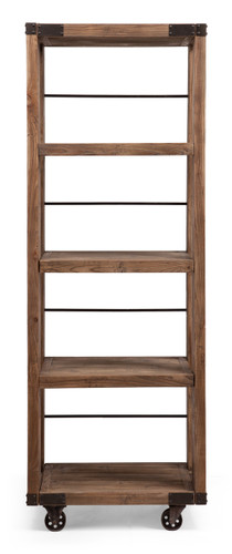 98303 Kirkwood 4 Level Shelf Distressed Natural 816226027222 Storage Modern Distressed Natural 4 Level Shelf by  Zuo Modern Kassa Mall Houston, Texas Best Design Furniture Store Serving Houston, The Woodlands, Katy, Sugar Land, Humble, Spring Branch and Conroe