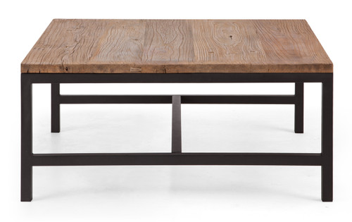98321 Gilman Square Coffee Table Distressed Natural 816226027390 Tables Modern Distressed Natural Square Coffee Table by  Zuo Modern Kassa Mall Houston, Texas Best Design Furniture Store Serving Houston, The Woodlands, Katy, Sugar Land, Humble, Spring Branch and Conroe