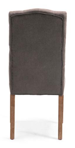 Gough Chair Charcoal Gray
