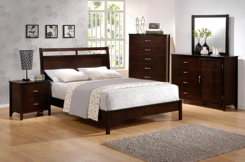 IAN COLLECTION COMPLETE BEDROOM SET