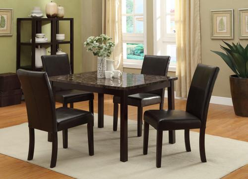 Pompei Dining Table Top 5 Piece Set