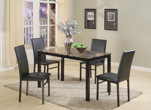 AIDEN DINING TABLE TOP 5 Piece Set