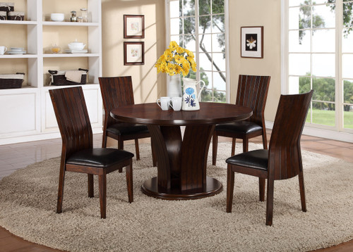Daria Dining Table and 4 Chairs