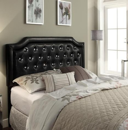 Maria Headboard Contemporary Full/Queen Upholstered Headboard