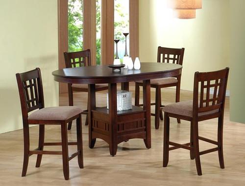 Empire Counter Height Table - Espresso