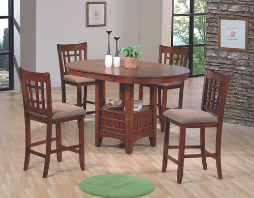 Empire Counter Height Table - Oak