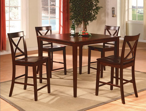Theodore Counter Height Table TOP 5 Piece Set
