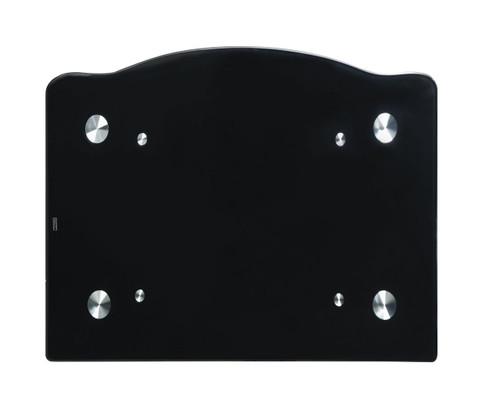 Black Silver Frame TV Stand