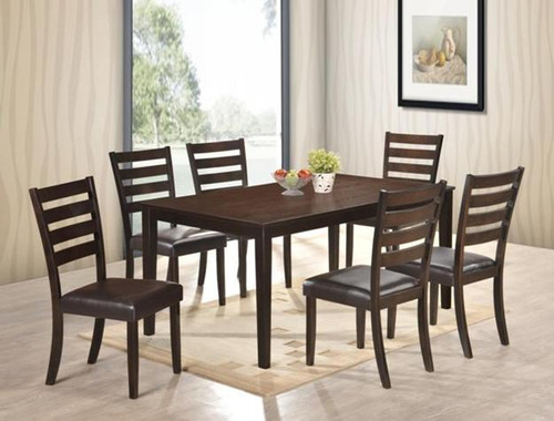 AUBERY DINING TABLE TOP 5 Piece Set