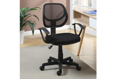MESH BACK SQUARE SEAT OFFICE CHAIR