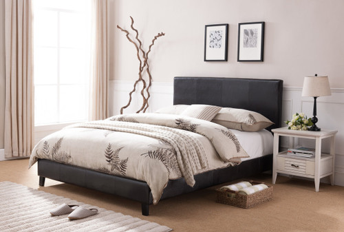 LORENZO PLATFORM BED FRAME AND  MATTRESS