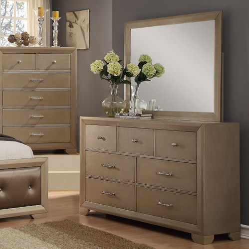 Fontaine Dresser Dresser and Mirror