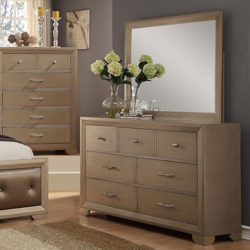 Fontaine Dresser Dresser and Mirror-B1700-D-M