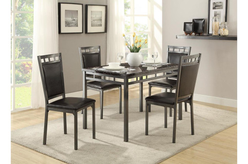 OLNEY DINING TABLE TOP 5 PIECE SET