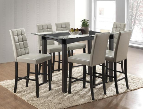 ZORA COUNTER HEIGHT TABLE - 1720T-5PC