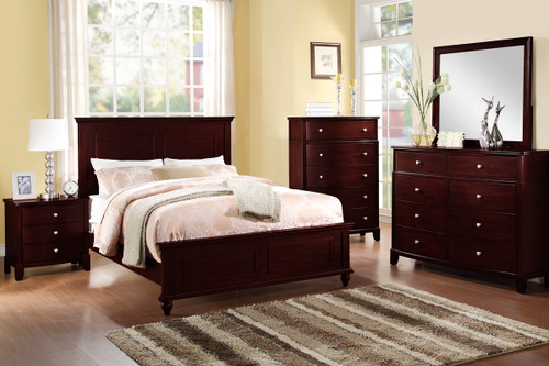 DARK BROWN QUEEN/KING BEDFRAME FOR YOUR MASTER BEDROOM