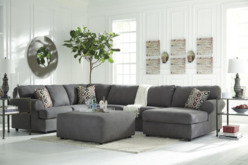 JAYCEON SECTIONAL SET IN STEEL