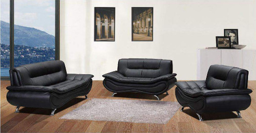 WILLIAM GREY SOFA LOVESEAT WITH CHAIR 3 PCS Set - F047