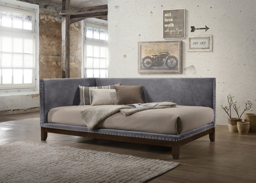 PAX NAILHEAD DAYBED GREY