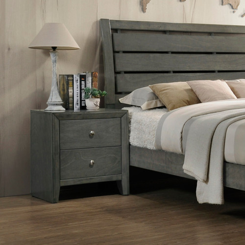 EVAN NIGHT STAND GREY-B4720/2