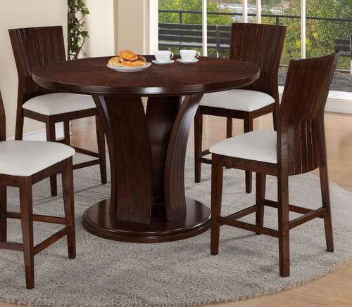 DARIA COUNTER HEIGHT ROUND TABLE-2734T/54