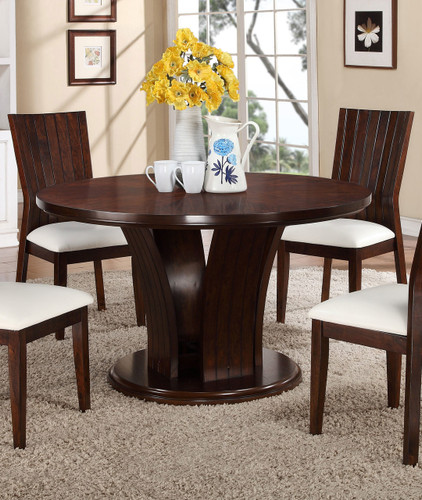 "DARIA 54"" ROUND DINING TABLE"