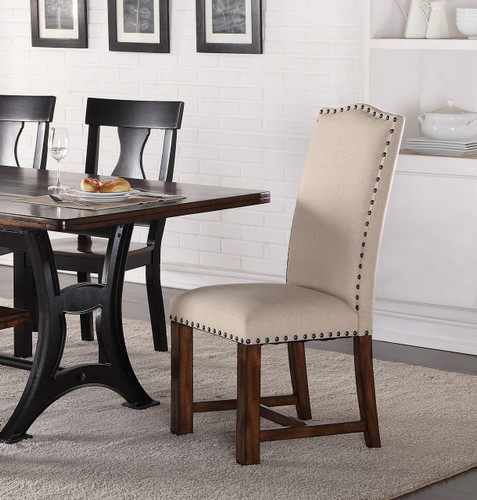 ASTOR UPHOLSTERED CHAIR 2 PCS SET-2106/S