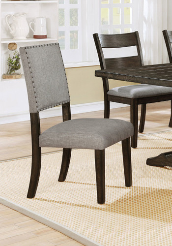 EDWINA UPHOLSTERED CHAIR 2 PCS SET