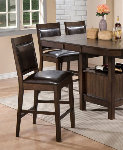 MARLOW COUNTER HEIGHT CHAIR 2 PCS SET